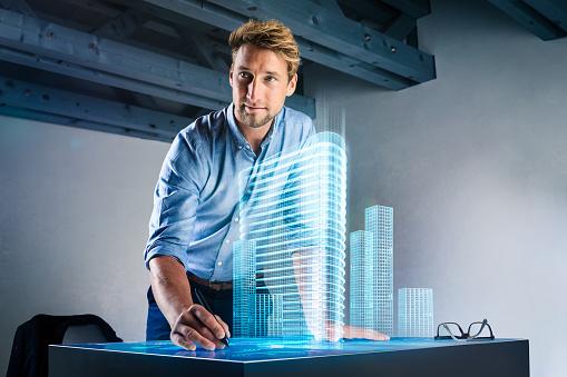 Une carte complète d'un designer industriel